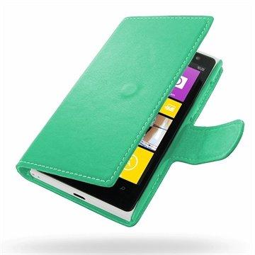 Nokia Lumia 1020 PDair Leren Case 3QNKI2B41da Aqua