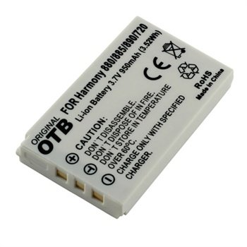 Batterij Logitech Harmony 720, 785, 880, 885, 890, 895, Harmony One