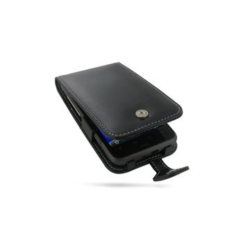 HTC Desire HD PDair Leren Case 3BHTEHF41 Zwart