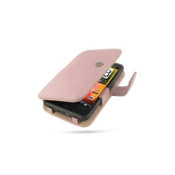 HTC Desire HD PDair Leren Case 3PHTEHB41 Roze