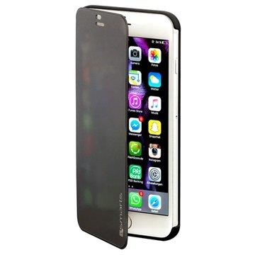 iPhone 6 Plus/6S Plus 4smarts Kyoto Always-On Book Flip Case Zwart