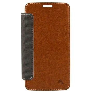 Samsung Galaxy S6 4smarts Noord Book Flip Case Bruin