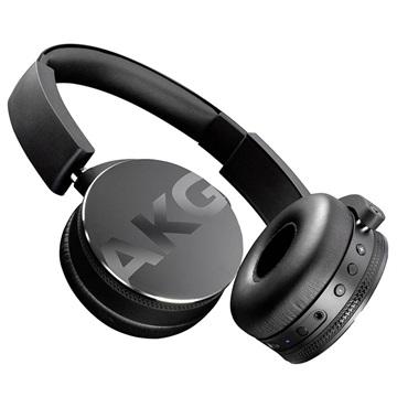 AKG Harman Bluetooth HiFi Koptelefoon, On Ear, Vouwbaar, Headset, Zwart