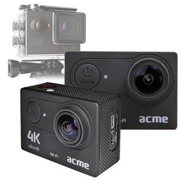 Acme VR301 4K Wi-Fi Sports & Action Camera Zwart