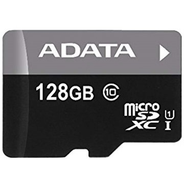 ADATA Micro SDHC UHS-I CL10 128GB w-Adapter (AUSDX128GUICL10-RA1)