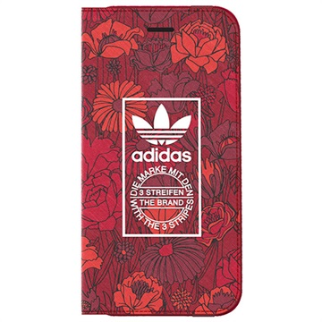 Adidas Originals Booklet case Bohemian Apple iPhone 7 Rood