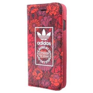 Adidas Originals Booklet case Bohemian Apple iPhone 7 Rood