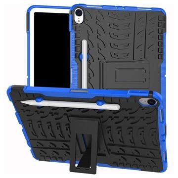 Anti-Slip iPad Pro 11 Hybrid Case Blauw-Zwart