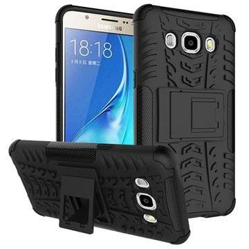 Samsung Galaxy J5 (2016) Anti-Slip Cover Zwart