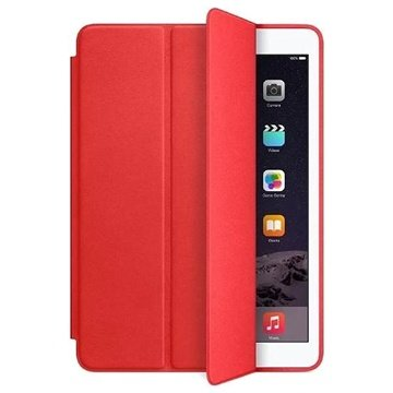 iPad Air 2 Leather Smart Case Red