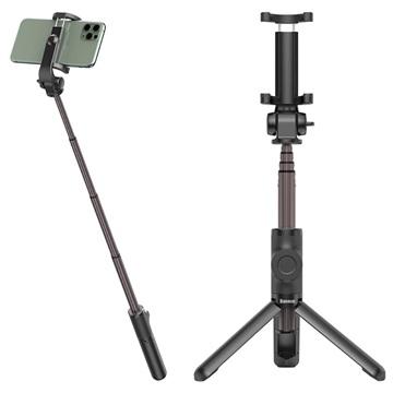 Baseus Lovely Bluetooth Selfie Stick met Statief SUDYZP-E01 Zwart
