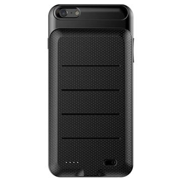 iPhone 6 Plus-6S Plus Baseus Slim Batterij Hoesje 3600mAh Zwart