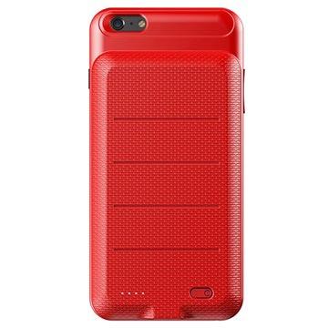 iPhone 6 Plus-6S Plus Baseus Slim Batterij Hoesje 3600mAh Rood