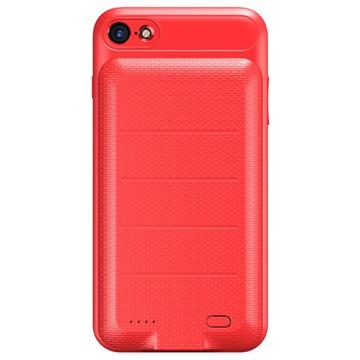 iPhone 7-iPhone 8 Baseus Slim Batterij Hoesje Rood
