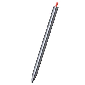 Baseus Square Line Capacitieve Styluspen Zilver