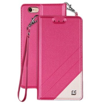 iPhone 6 Plus/6S Plus Beyond Cell Infolio C Wallet Case Hot Pink
