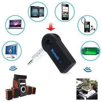 Universele Bluetooth-3.5mm Audio Ontvanger Zwart