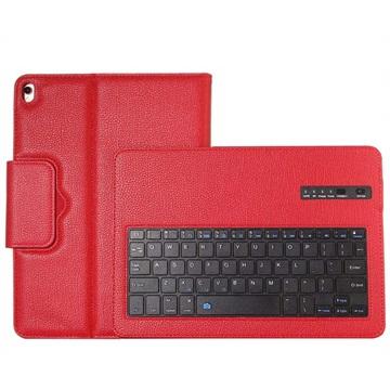 iPad 10.2 Bluetooth Toetsenbord Hoesje Rood