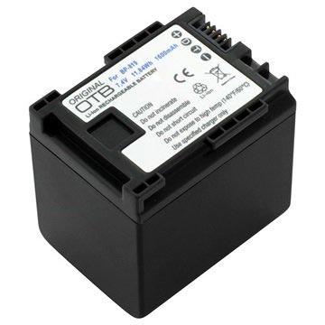 Canon BP-819 Camcorder Batterij XA10, Legria FS46, HF200 1600mAh