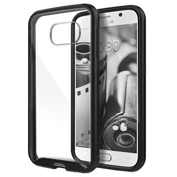 Samsung Galaxy S6 Caseology Waterfall Cover Zwart