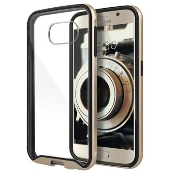 Samsung Galaxy S6 Caseology Waterfall Cover Goud