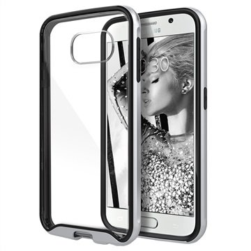 Samsung Galaxy S6 Caseology Waterfall Cover Zilver