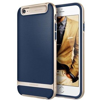iPhone 6 Plus/6S Plus Caseology Wavelength Cover Navy Blauw / Goud