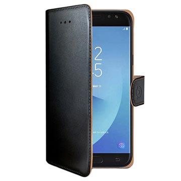 Samsung Galaxy J5 (2017) Celly Wally Wallet Case Zwart