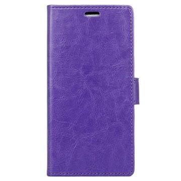 Samsung Galaxy J5 (2017) Klassiek Wallet Case Paars