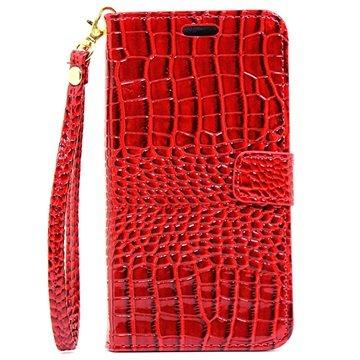 Samsung Galaxy C5 Crocodile Wallet Case Rood