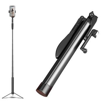 Cyke A21 Multifunctionele Selfie Stick Tripod Zwart