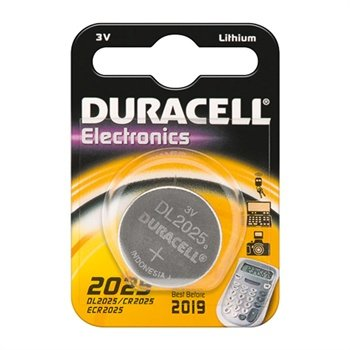 Duracell Batterij 3volt CR2025 Stuk