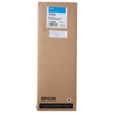Epson inktpatroon Cyan T636200 UltraChrome HDR 700 ml