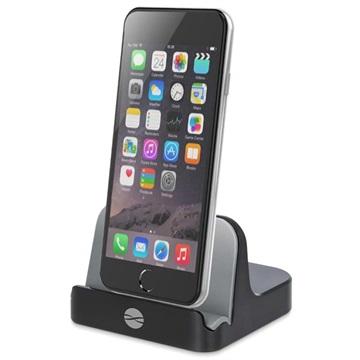 Forever PDS-02 MFI Docking Station iPod, iPhone, iPad Zwart