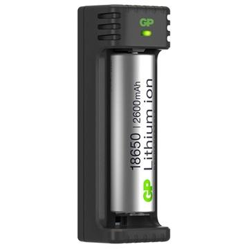 GP L111 USB laadapp. incl. accu 18650 2600mAh 3.7V 14511118650B1