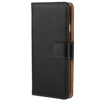 iPhone 6 Plus-6S Plus Wallet Hoesje Zwart