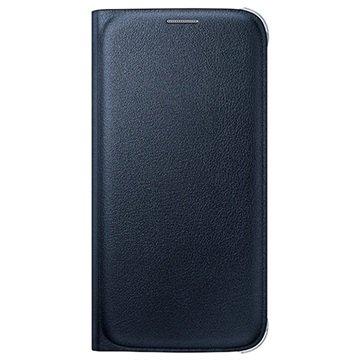 Samsung Galaxy S6 Wallet Hoesje EF-WG920PB- Zwart / Blauw