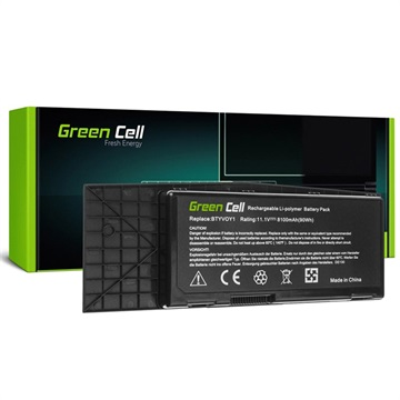 Green Cell Accu Dell Alienware M17x R3, M17x R4 8100mAh