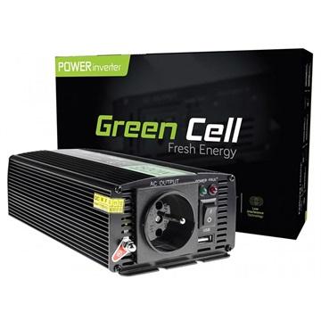 Green Cell Inv04 Voltage Car Inverter 24v-230v 500w-1000w
