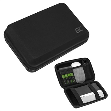Green Cell PowerCase Accessoires Organisator-Tas Zwart