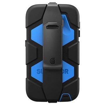 Samsung Galaxy S6 Griffin Survivor All-Terrain Cover Zwart / Blauw