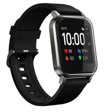 Haylou LS02 Waterbestendig Smartwatch met Hartslagmeting Zwart