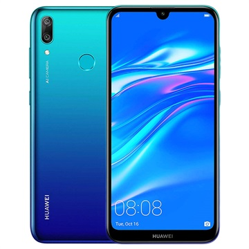 Huawei Y7 2019 15,9 cm (6.26) 3 GB 32 GB Dual SIM 4G Blauw 4000 mAh