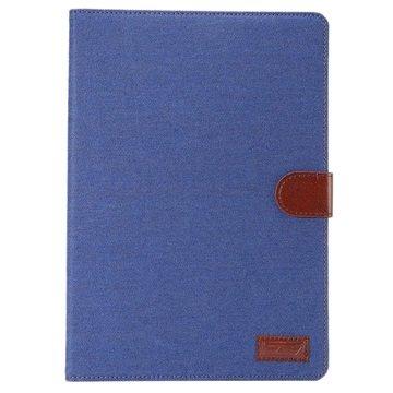 Samsung Galaxy Tab A 9.7 Jeans Smart Wallet Hoesje Blauw