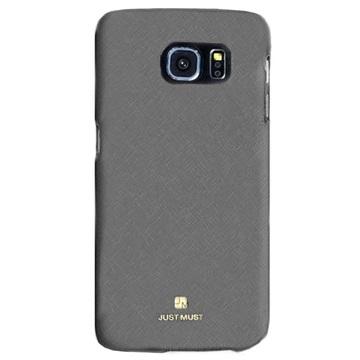 Samsung Galaxy S6 Just Must SU Hard Cover Grijs