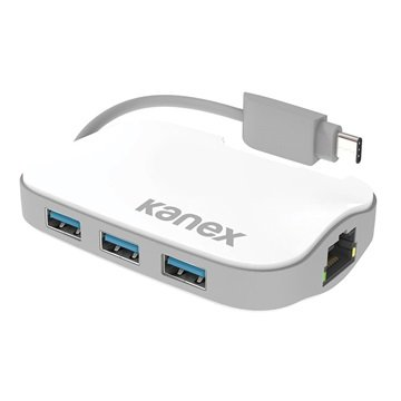 Kanex USB-C 3-Port Hub w-Gigabit Ethernet