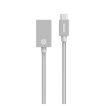 Kanex USB Type-C-USB 3.0 Kabel Adapter Zilver