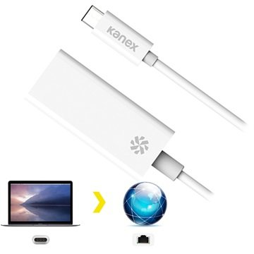 Kanex Voor MacBook en Chromebook Pixel Netwerkadapter USB-C, LAN (10-100-1000 MBit-s)