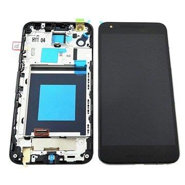 LG Nexus 5X Voorzijde Cover & LCD Display Zwart