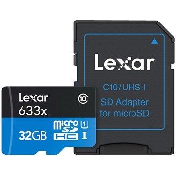 Lexar MicroSDHC 32GB High-Performance UHS-I 633x